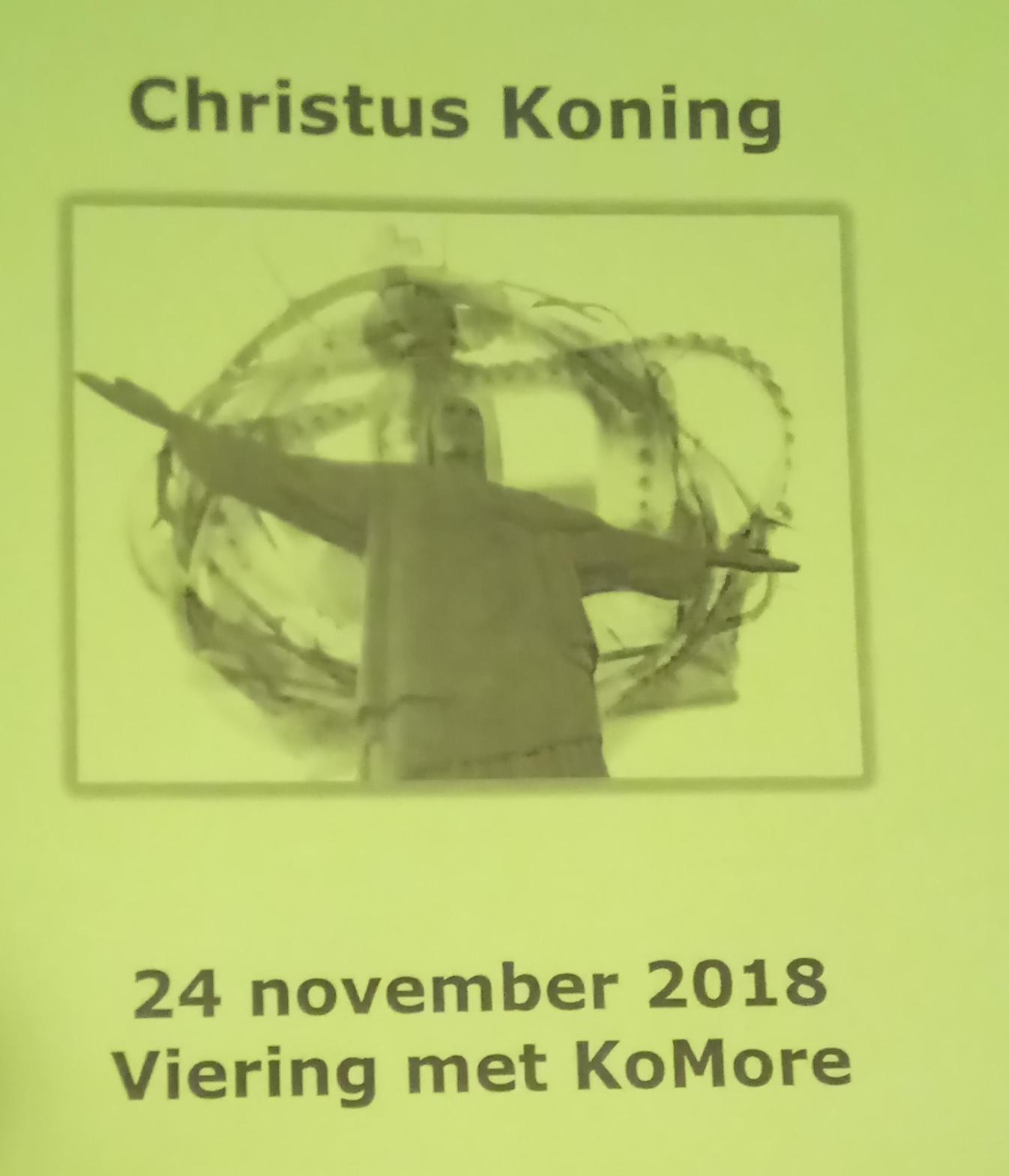 Viering – Christus Koning