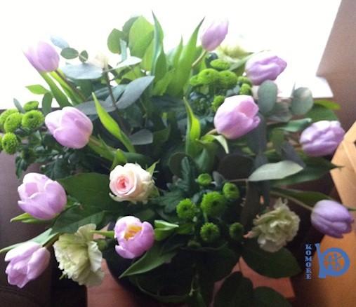 Bloemengroet voor alle moeders