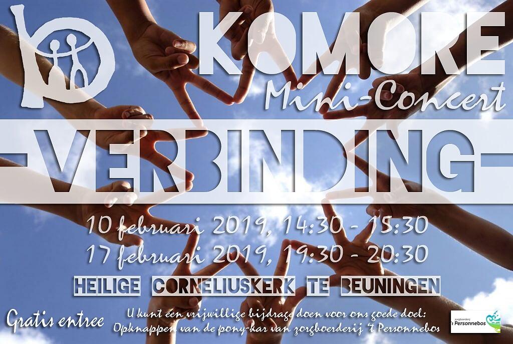 """2 mini-concerten """"Verbinding"""""""