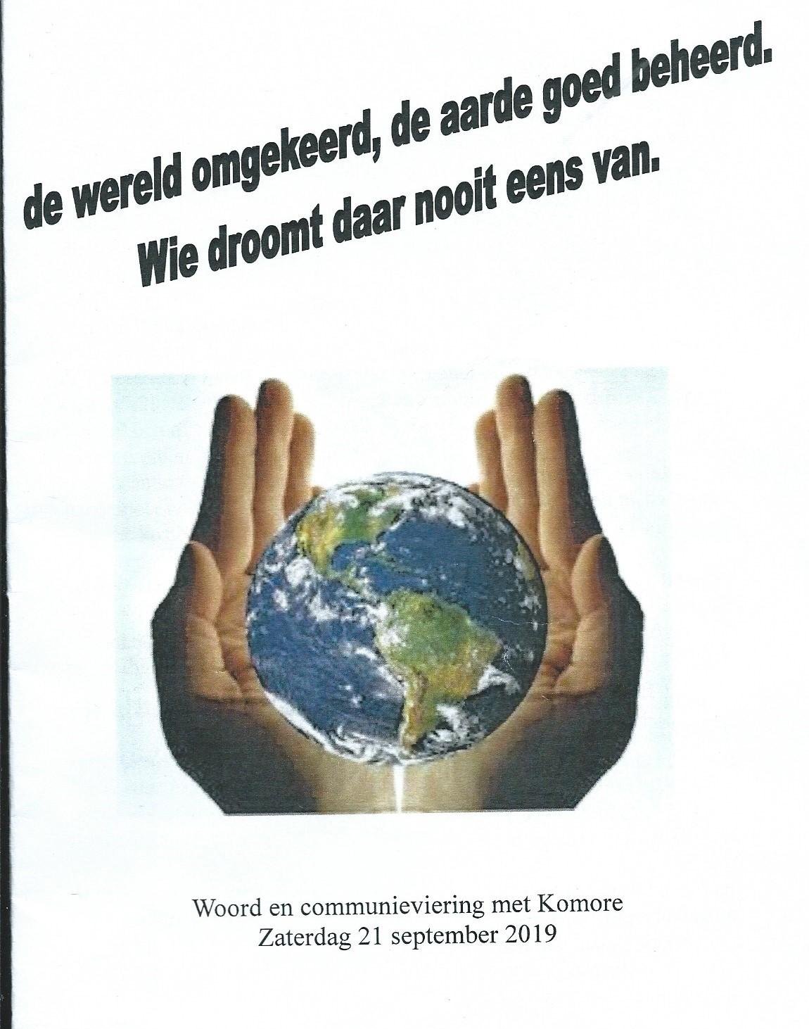 WoCo – De wereld omgekeerd, de aarde goed beheerd. Wie droomt daar nooit eens van.